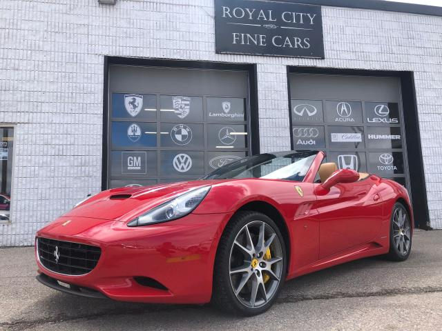 2010 Ferrari California Accident Free Full Service Records Available