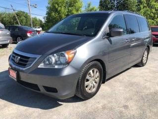 Used 2010 Honda Odyssey EX-L LEATHER SUNROOF BACK UP CAMERA 8 PASS for sale in Stouffville, ON
