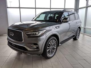 Used 2019 Infiniti QX80 7-PASSENGER PRO ACTIVE for sale in Edmonton, AB