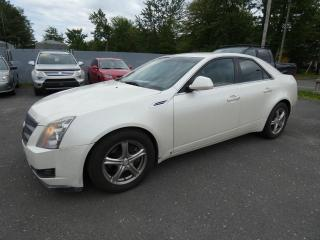 Used 2008 Cadillac CTS Berline 4 portes avec 1SA for sale in Victoriaville, QC