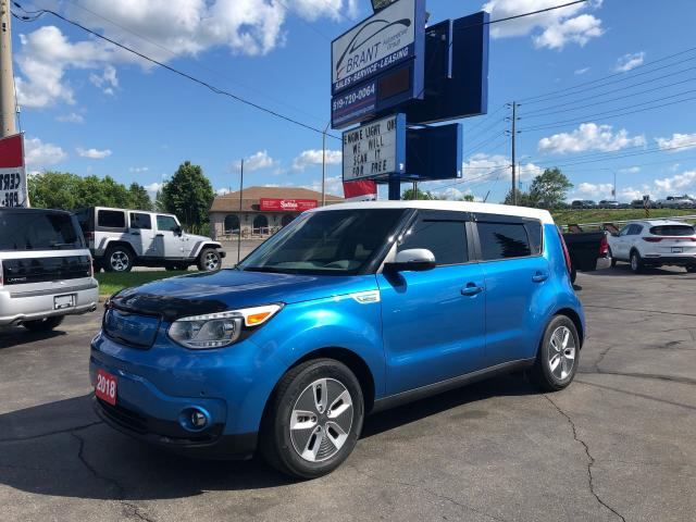 2018 Kia Soul EV Luxury ELECTRIC