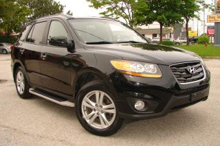 Used 2011 Hyundai Santa Fe Limited w/Navi for sale in Mississauga, ON