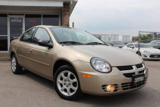 Used 2003 Dodge Neon SX2.0 SUNROOF|AC|POWER MIRRORS for sale in Mississauga, ON