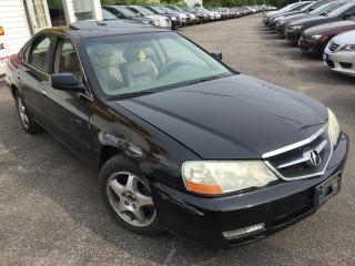 Used 2003 Acura TL AUTO/ LEATHER/ SUNROOF/ ALLOYS/ READY TO GO! for sale in Scarborough, ON