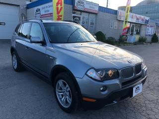 Used 2008 BMW X3 Accident Free | AWD | Sunroof | Leather | Rear Cam for sale in Oakville, ON