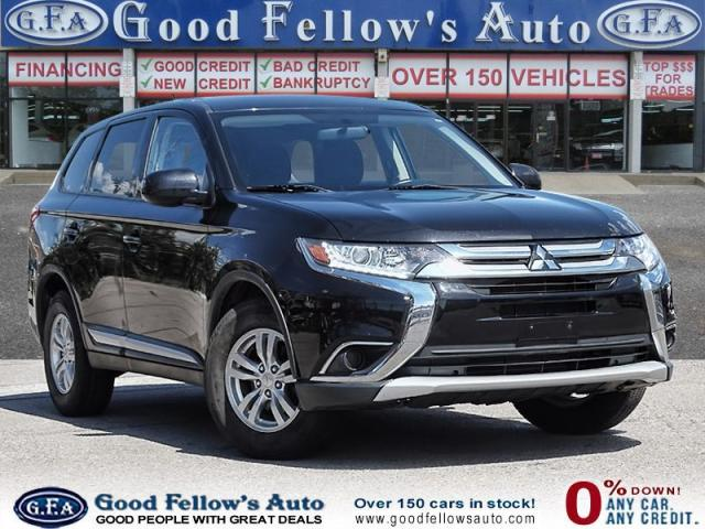 2016 Mitsubishi Outlander ES MODEL, 2.4 LITER, 4WD, HEATED SEATS
