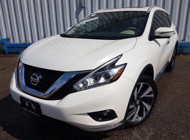 2016 Nissan Murano Platinum AWD *NAVIGATION*