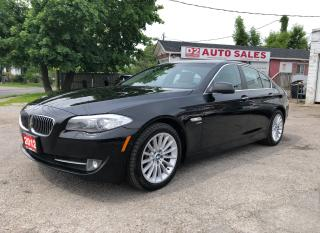 Used 2012 BMW 5 Series 535i xDrive/Comes Certified/Bluetooth/360° Camera for sale in Scarborough, ON