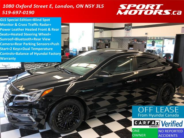 2016 Hyundai Sonata GLS Special Edition+Blind Spot+Leather+Sunroof+A/C