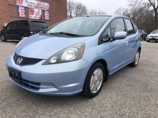 Used 2010 Honda Fit LX/ONE OWNER/NO ACCIDENT/CERTIFIED for sale in Cambridge, ON