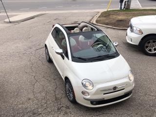 Used 2013 Fiat 500 Lounge/NO ACCIDENT/SAFETY INCLUDED for sale in Cambridge, ON