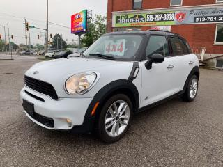Used 2012 MINI Cooper Countryman S/ALL4/1.6 TURBO/NO ACCIDENT/CERTIFIED for sale in Cambridge, ON