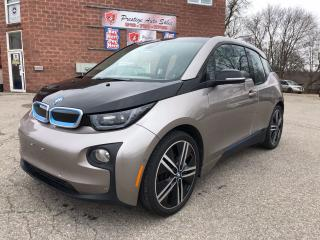 Used 2015 BMW i3 ELECTRIC/NO ACCIDENT/SAFETY INCLUDED for sale in Cambridge, ON