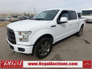 Used 2016 Ford F-150 LARIAT SUPERCREW SWB 4WD 5.0L for sale in Calgary, AB