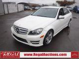 Photo of White 2012 Mercedes-Benz C-CLASS C250 4D SEDAN 4MATIC 2.5L