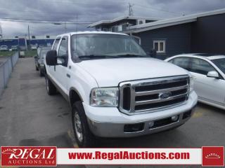 Used 2005 Ford F-350 SD LARIAT 4D CREW CAB 4WD for sale in Calgary, AB