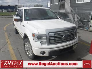Used 2014 Ford F-150 PLATINUM 4D SUPERCREW 4WD for sale in Calgary, AB