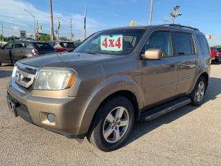 Used 2011 Honda Pilot EX-L/AWD/8 SEATS/ONE OWNER/NO ACCIDENT/SAFETY INCL for sale in Cambridge, ON