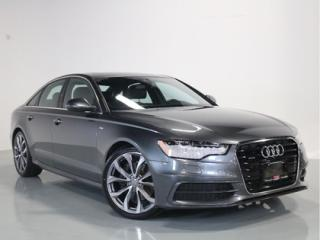 Used 2015 Audi A6 2.0T TECHNIK   S-LINE   NAVIGATION for sale in Vaughan, ON