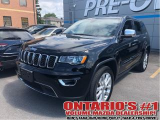 Used 2017 Jeep Grand Cherokee Limited | NAV | Backup Camera| Sunroof | Leather for sale in Toronto, ON