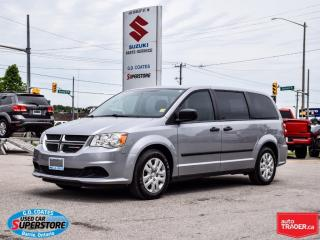 Used 2016 Dodge Grand Caravan ~ ONLY 35,000 KM! ~Stow Away 3rd Row Seats for sale in Barrie, ON