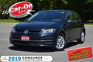 Used 2018 Volkswagen Golf 1.8 TSI AUTO REAR CAM HTD SEATS NAV READY for sale in Ottawa, ON