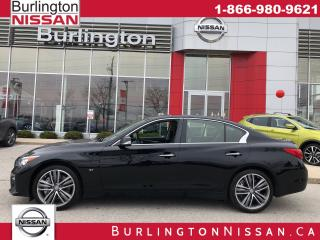 Used 2015 Infiniti Q50 S, AWD, ACCIDENT FREE ! for sale in Burlington, ON