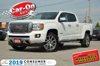 Used 2019 GMC Canyon Denali 4X4 3,400 KM LEATHER TOW PKG LOADED for sale in Ottawa, ON