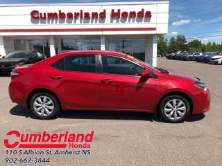 Used 2015 Toyota Corolla LE  - Bluetooth -  Power Windows for sale in Amherst, NS