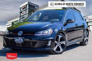 Used 2015 Volkswagen GTI 5-Dr 2.0T Autobahn 6sp No Accident| Navigation for sale in Thornhill, ON