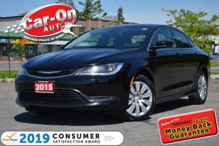 Used 2015 Chrysler 200 A/C CRUISE POWER GROUP ONLY $84 BIWEEKLY o.a.c for sale in Ottawa, ON