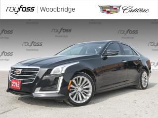 Used 2015 Cadillac CTS Luxury AWD, SUNROOF, BOSE, NAV for sale in Woodbridge, ON