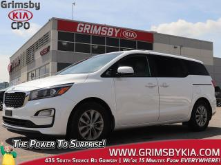 Used 2019 Kia Sedona LX+| 3rd Row| Backup Cam| Heat Seat Steer for sale in Grimsby, ON