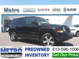 Used 2016 Jeep Patriot High Altitude for sale in Ottawa, ON