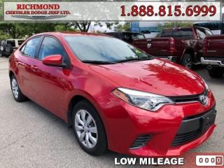 Used 2015 Toyota Corolla for sale in Richmond, BC