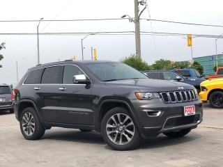 Used 2018 Jeep Grand Cherokee Limited**4X4**Sunroof**Back UP CAM** for sale in Mississauga, ON