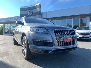 Used 2013 Audi Q7 3.0T Supercharged Navi Sunroof 7-Passanger for sale in Langley, BC