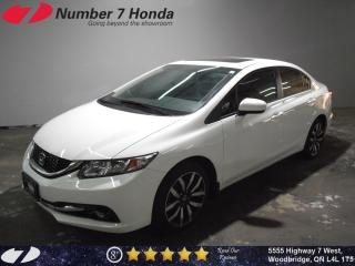 Used 2015 Honda Civic Touring| Loaded| Leather| Navi| Tint| for sale in Woodbridge, ON