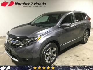 Used 2018 Honda CR-V EX-L| Sunroof| Leather| All-Wheel Drive! for sale in Woodbridge, ON