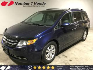 Used 2015 Honda Odyssey EX-L| Sunroof| Leather| DVD| for sale in Woodbridge, ON