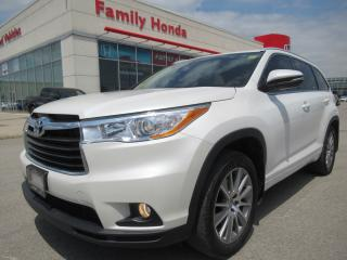 Used 2015 Toyota Highlander XLE, FREE WINTER TIRES!! for sale in Brampton, ON