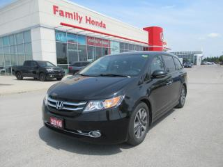 Used 2016 Honda Odyssey Touring for sale in Brampton, ON