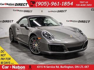 Used 2017 Porsche 911 Carrera 4S| AWD| CONVERTIBLE| for sale in Burlington, ON