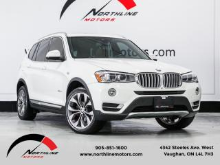 Used 2016 BMW X3 AWD|xDrive28d|Navigation|Pano Roof|HUD|BSM|Surround Camera for sale in Vaughan, ON