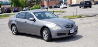 Used 2008 Infiniti G35 4dr AWD for sale in Mississauga, ON