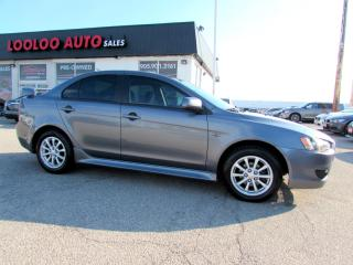 Used 2010 Mitsubishi Lancer ES 5 SPEED MANUAL BLUETOOTH CERTIFIED 2YR WARRANTY for sale in Milton, ON
