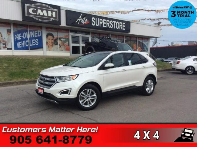 2015 Ford Edge SEL  AWD LEATH PANO-ROOF NAV CAM 10W-SEAT