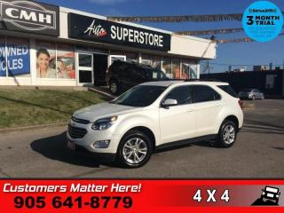 Used 2017 Chevrolet Equinox LT  AWD BS CAM 8W-P/SEAT HS PARK-SENS for sale in St. Catharines, ON