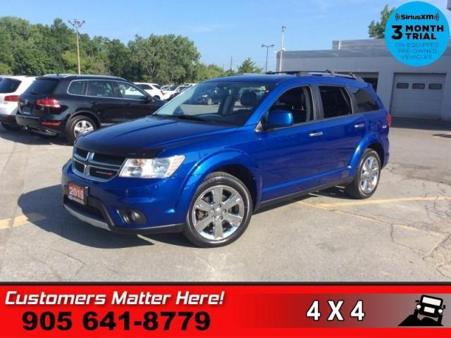 2015 Dodge Journey R/T  AWD NAV ROOF LEATH 7 PASS HS