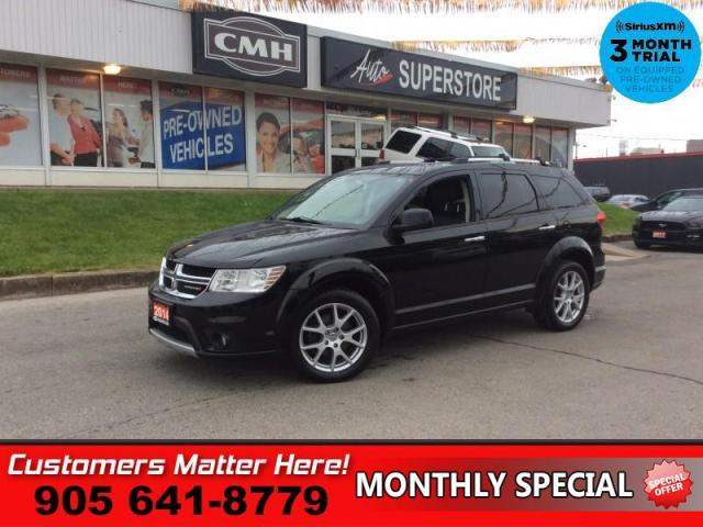 2014 Dodge Journey R/T  AWD LEATH HS P/SEAT REMOTE START